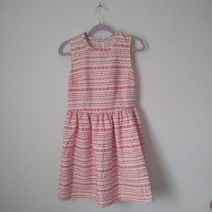 3/$30 Anthro Freeway Striped Fit & Flare Dress M